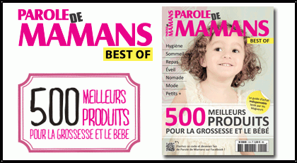 Magazine best of parole de mamans